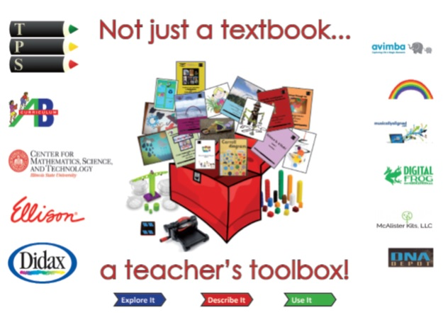 Not just a textbook, a teacher's toolbox!